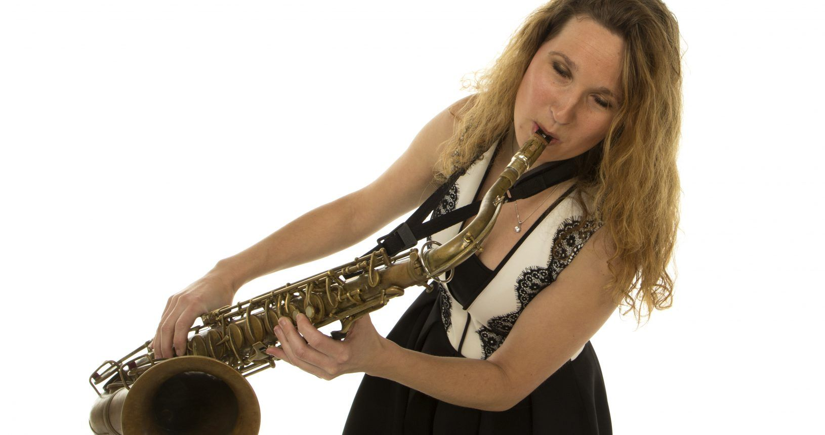 party band met saxofonist