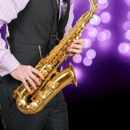 band met saxofonist boeken